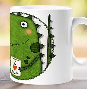 office mug etsy tearex dinosaur personalised mug office mugs perfect for work funky pigeon