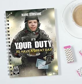 Personalised Gaming Notebook Its Your Duty
