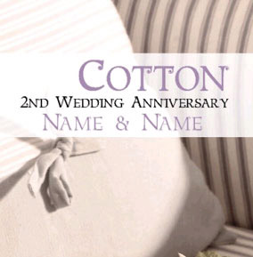 Antique Sentiments - Cotton Anniversary