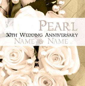 Antique Sentiments - Pearl Anniversary