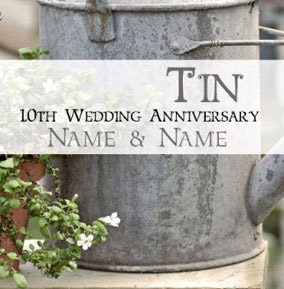 Antique Sentiments - Tin Anniversary