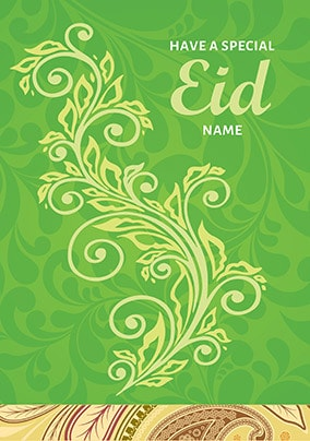 Have A Special Eid Personalised Card
