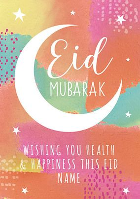 Health and Happiness this Eid Card