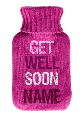 Hot Water Bottle Pink