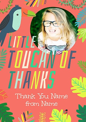 Toucan Of Thanks Photo Card