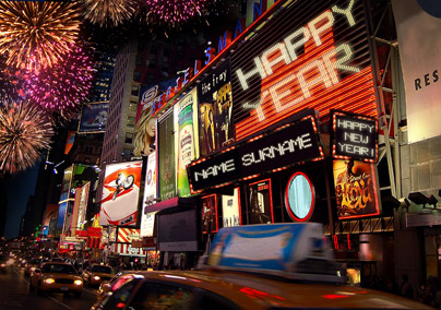 Times Square - New Year