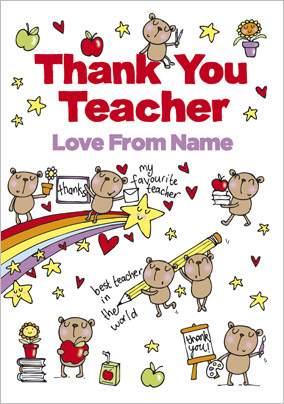 Little Scribblers - Thank You Teacher