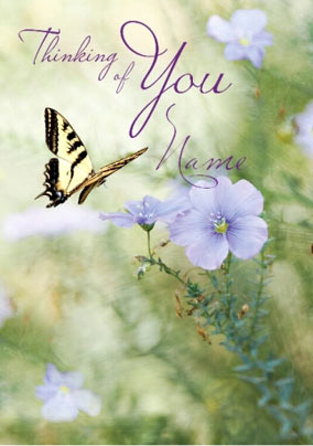 Posies & Petals - Thinking Of You Butterfly