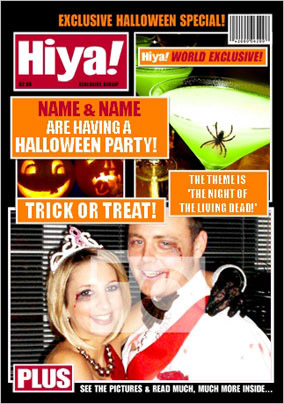 Hiya! Halloween Magazine Spoof