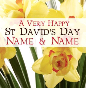 Antique Sentiments - St David's Day