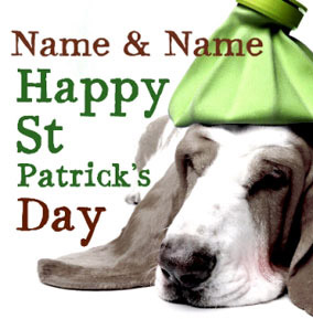Dog Tired - St Patrick's Day