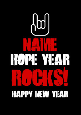 You Rock - New Year