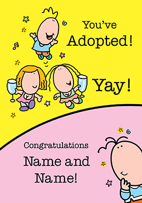 Lemon Squeezy - Adoption Card Congratulations