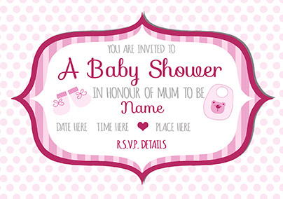 Baby Shower Card Invitations Saves Wpart Co