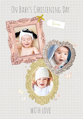 Christening Day With Love Card