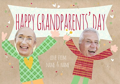 Happy Grandparent's Day Photo Card
