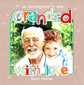 Grandad Grandparent's Day Photo Card