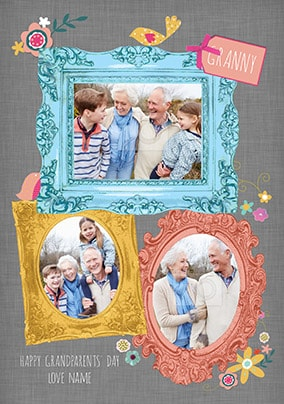Granny Grandparents' Day Multi Photo Card