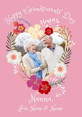 Grandparents day cards funky pigeon nanna grandparents day photo card m4hsunfo