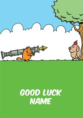 Learn to Speak Cat - Good Luck Card Rocket Launcher