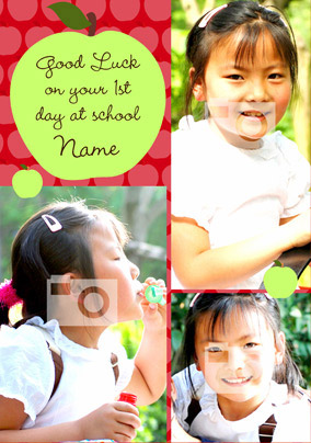 Multi Photo - First Day At School