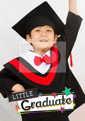 Little Graduate Photo Card