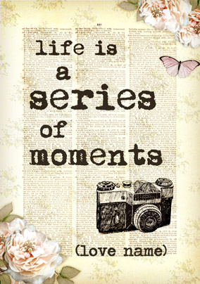 Bookish Type - Series of Moments