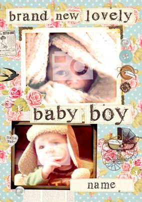 Collecting Happiness - Lovely Baby Boy