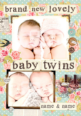 Collecting Happiness - Baby Twins