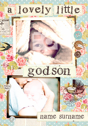 Collecting Happiness - Christening Godson