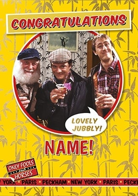 Only Fools - Congratulations Lovely Jubbly