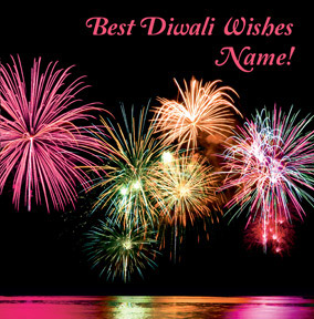 Diwali - Wishes & Fireworks