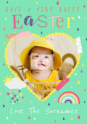 A Very Happy Easter Photo Card