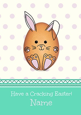 Have A Cracking Easter Personalised Card