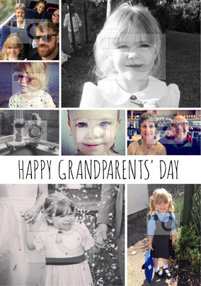 Essentials - Grandparents' Day Card Multi Photo Upload Portrait