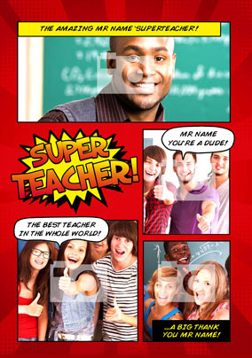 Kapow - Super Teacher