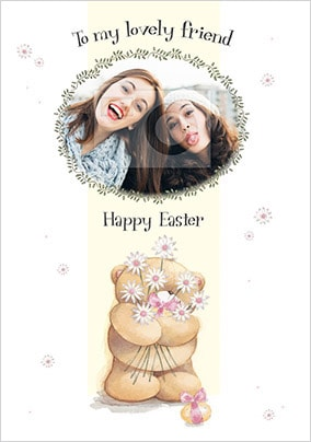Friend Photo Upload Forever Friends Easter Card