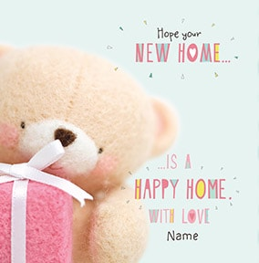 Happy New Home Personalised Card