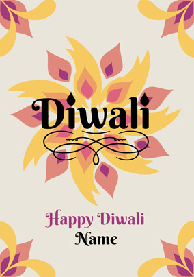 Diwali greetings cards buy send funky pigeon folklore happy diwali celebrations card m4hsunfo