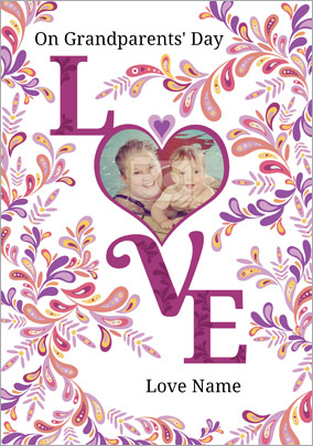 Folklore - Grandparents' Day Card Love Photo Upload
