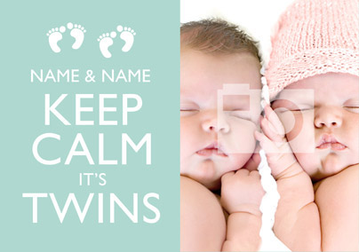 Keep Calm - It's Twins Photo