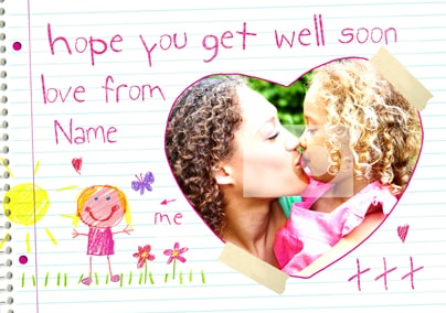 Love From Me - Get Well Soon Girl