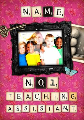 Love Letters - No 1 Teaching Assistant