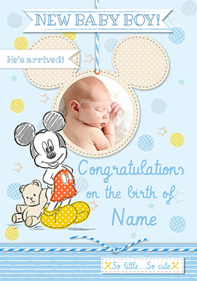 preview image is not found - New Born Baby Card