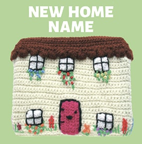 Knit & Purl - New Home Card