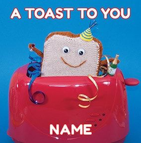 Knit & Purl - A Toast to You card