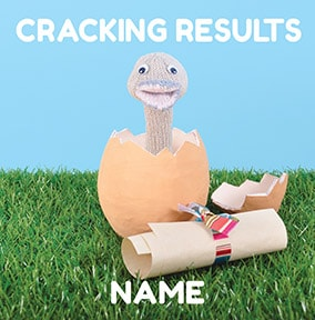 Knit & Purl - Cracking Result Card