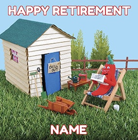 Knit & Purl - Happy Retirement