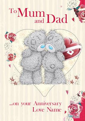 Me to you anniversary mum dad chocolates funky pigeon me to you anniversary mum dad chocolates m4hsunfo