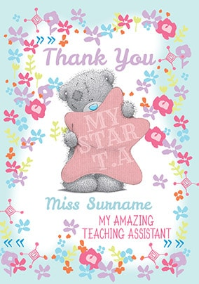 Amazing Teaching Assistant Card - Me To You